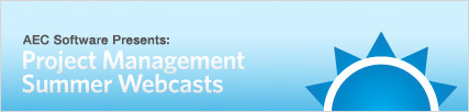Join Us For Our Project Management Summer Webcasts