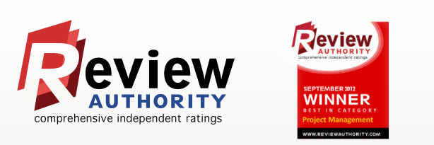 Project Management Software Award Winner - Review Authority
