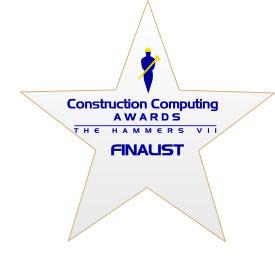 Construction Computing Award Finalist - FastTrack Schedule
