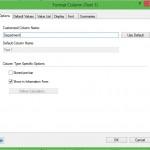 Creating Custom Value Lists