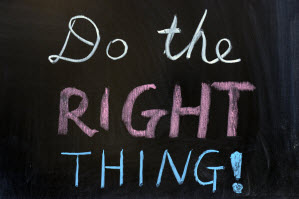 Do The Right Thing Project Managers