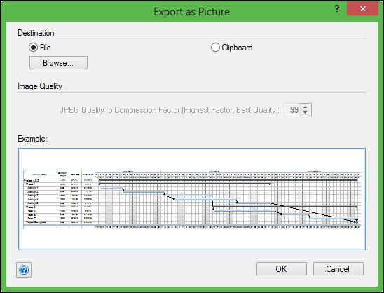 Export as Picture Dialog