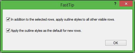 Outline FastTip