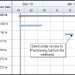 How to Shift Tasks and Graphical Items in a Schedule