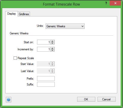 Format Generic Weeks
