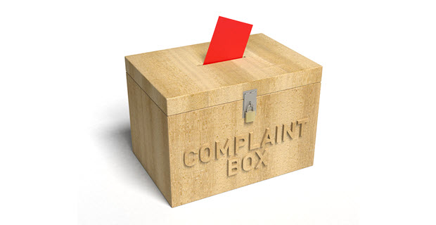 pay attention to customer complaints