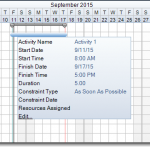 FastTrack Schedule Best Practices: Creating Activity Bars