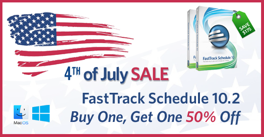 4th of July FastTrack Schedule Sale