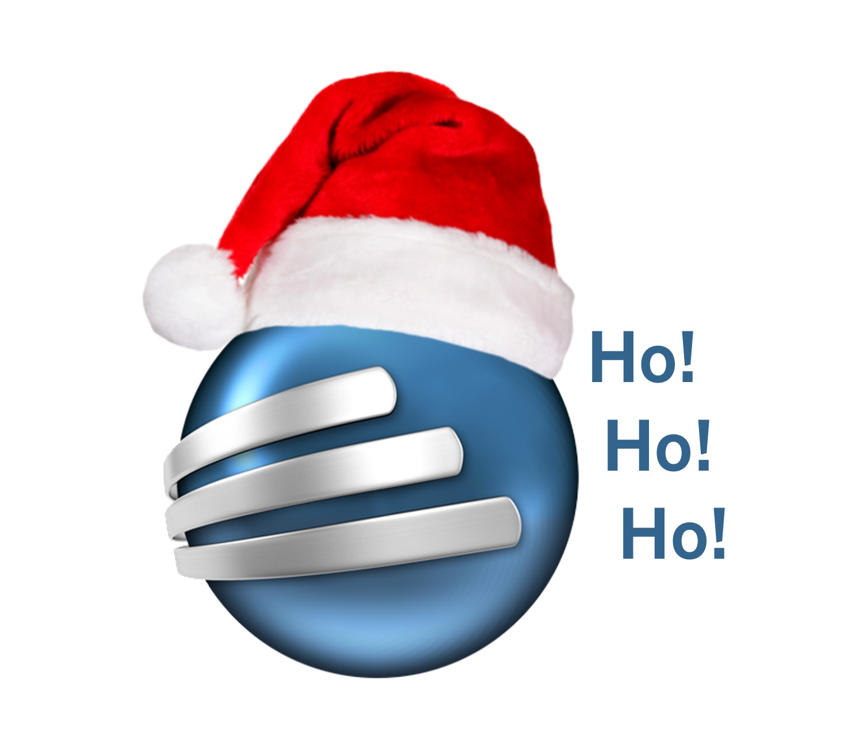 FastTrack Schedule logo wearing Santa hat